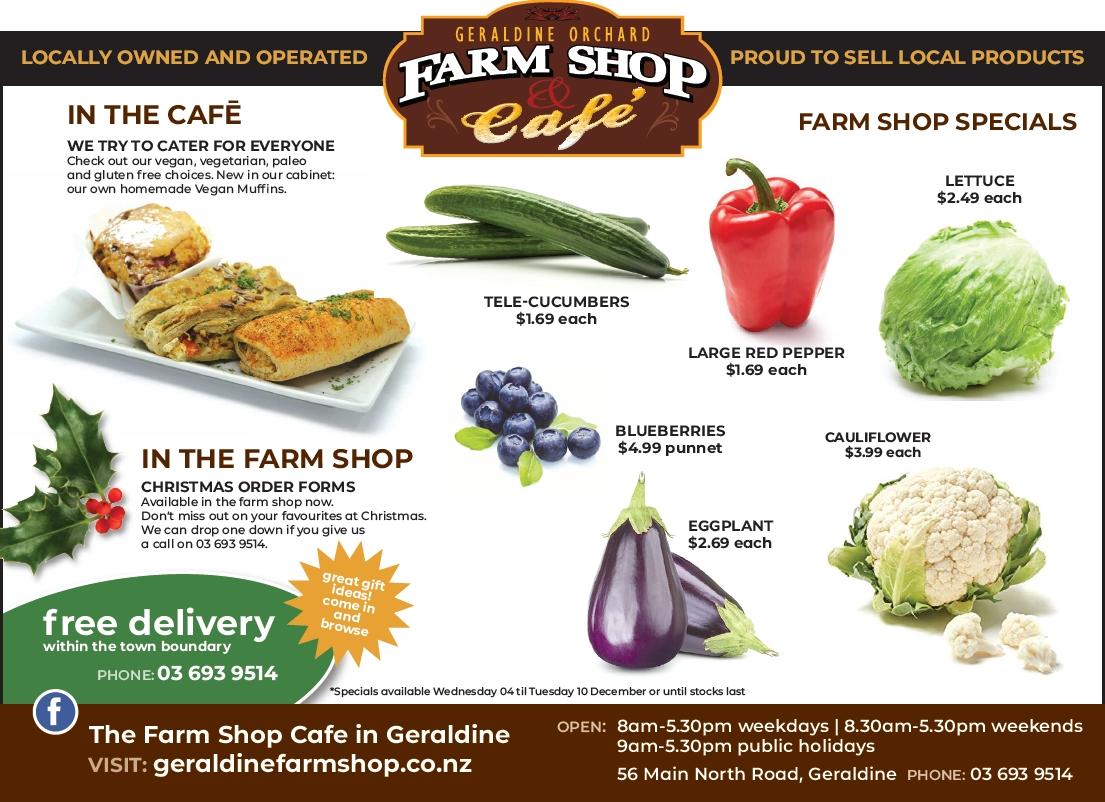 Geraldine Orchard Farmshop and Cafe